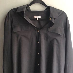 Black Juicy Couture button down
